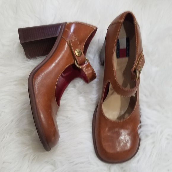 Tommy Hilfiger Shoes - 🔥CLOSING MONDAY🔥Vtg Tommy Hilfiger Block Heels